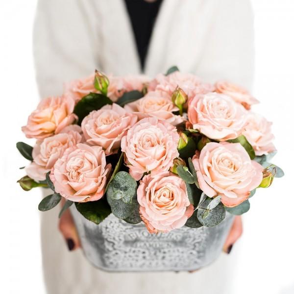 """Bukiet  """"101 róż ze storczykiem"""""""