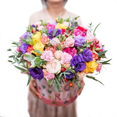 """Bukiet """"Różowy tulipan"""""""