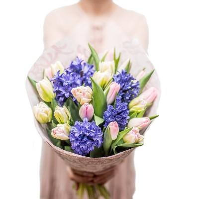 Tulipany pachnące wiosną