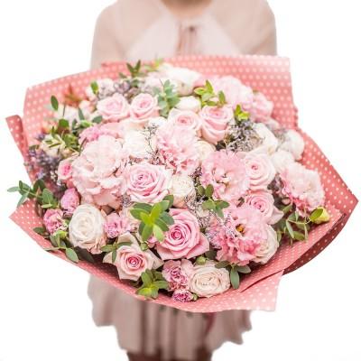 """Bukiet """"Słodki róż"""""""