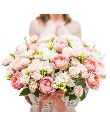 """Bukiet """"Białe tulipany"""""""