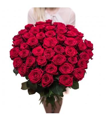 "Bukiet  ""Róża z gipsówką"""