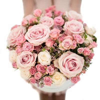 "Box ""Sweet roses"""