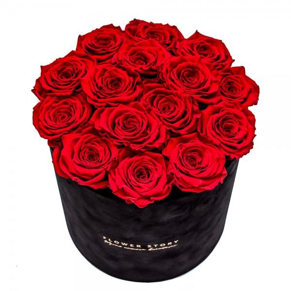 Wieczna róża XL czerwona
