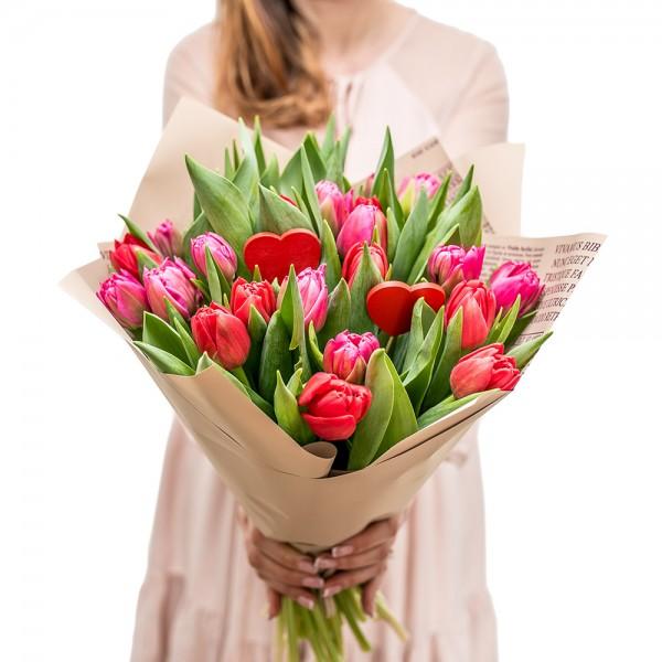 """Wieczna róża """"Serce DeLux"""""""